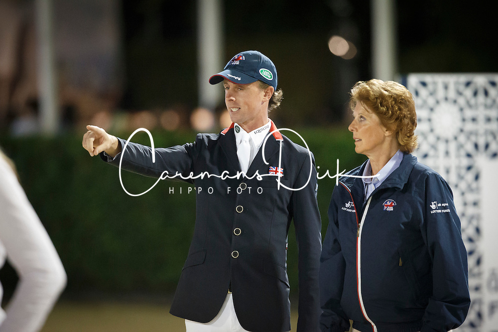 maher Ben, Lampard Di, (GBR)<br /> Final<br /> Furusiyya FEI Nations Cup Jumping Final - Barcelona 2015<br /> &copy; Dirk Caremans<br /> 26/09/15