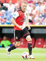 Sam Larsson of Feyenoord during the Pre-season Friendly match between Feyenoord Rotterdam and Levante UD at the Kuip on July 29, 2018 in Rotterdam, The Netherlands