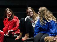 St Paul's School sits down with Playwright Jonathan Rand.  ©2020 Karen Bobotas Photographer