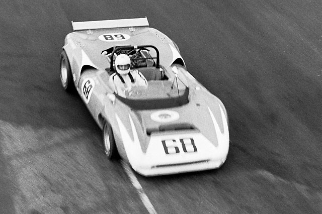Ron Grable, Lola T70, 1969 Edmonton Can-Am