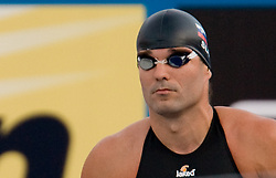 Peter Mankoc of Slovenia competes during Men's  100m Butterfly Semifinal during the 13th FINA World Championships Roma 2009, on July 31, 2009, at the Stadio del Nuoto,  in Foro Italico, Rome, Italy. (Photo by Vid Ponikvar / Sportida)