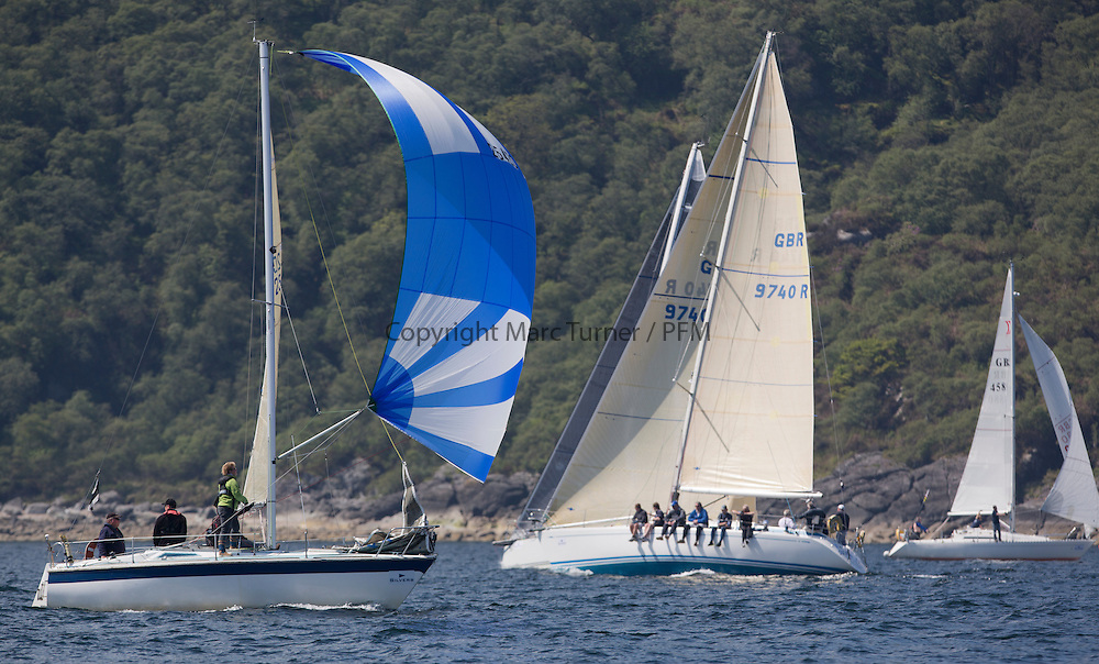 Final days' racing at the Silvers Marine Scottish Series 2016, the largest sailing event in Scotland organised by the  Clyde Cruising Club<br /> <br /> Racing on Loch Fyne from 27th-30th May 2016<br /> <br /> 2542C, Sirius, Richard Doig, East Antrim BC, GK24<br /> <br /> Credit : Marc Turner / CCC<br /> For further information contact<br /> Iain Hurrel<br /> Mobile : 07766 116451<br /> Email : info@marine.blast.com<br /> <br /> For a full list of Silvers Marine Scottish Series sponsors visit http://www.clyde.org/scottish-series/sponsors/