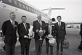 1967 - Irish Amateur Golf Team at Dublin Airport