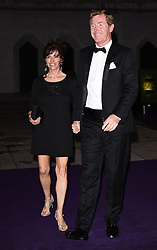 Erin Woodforde and Mark Woodforde attend the 2015  Wimbledon Champions Dinner at The Guildhall, Gresham Street, London on Sunday 12 July 2015