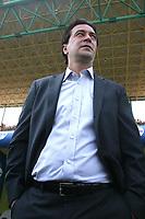 Reggio Calabria 26-08-2007. Stadio Oreste Granillo. Campionato Italiano serie A 2007/2008 . <br /> <br /> Reggina-Atalanta 1-1. Match Day 1. <br /> <br /> L'allenatore della Reggina Massimo Ficcadenti<br /> <br /> Reggina Trainer Massimo Ficcadenti<br /> <br /> Photo PasqualeGarreffa INSIDEFOTO.