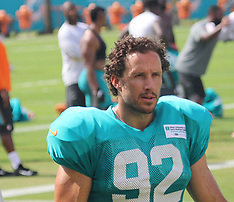 Miami Dolphins long snapper John Denney retiring - 14 Sept 2018