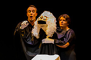 Trial By Jury performed by King's College Gilbert & Sullivan Society in Harrogate Theatre, Harrogate, England on Wednesday 22 August 2018 Photo: Jane Stokes