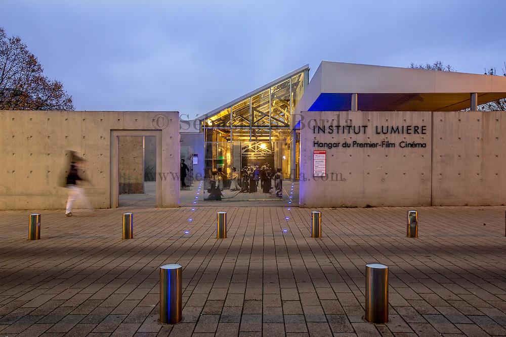 l'Institut Lumière, hangar du premier film // Lumière Institute and house of the first movie