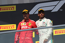 June 9, 2019 - Montreal, Canada - xa9; Photo4 / LaPresse.09/06/2019 Montreal, Canada.Sport .Grand Prix Formula One Canada 2019.In the pic: podium:.1st position Lewis Hamilton (GBR) Mercedes AMG F1 W10 .2nd position Sebastian Vettel (GER) Scuderia Ferrari SF90 (Credit Image: © Photo4/Lapresse via ZUMA Press)