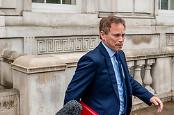 Grant Shapps, Secretary of State for Transport leaves the Cabinet Office. <br /> <br /> Richard Hancox | EEm 30072019