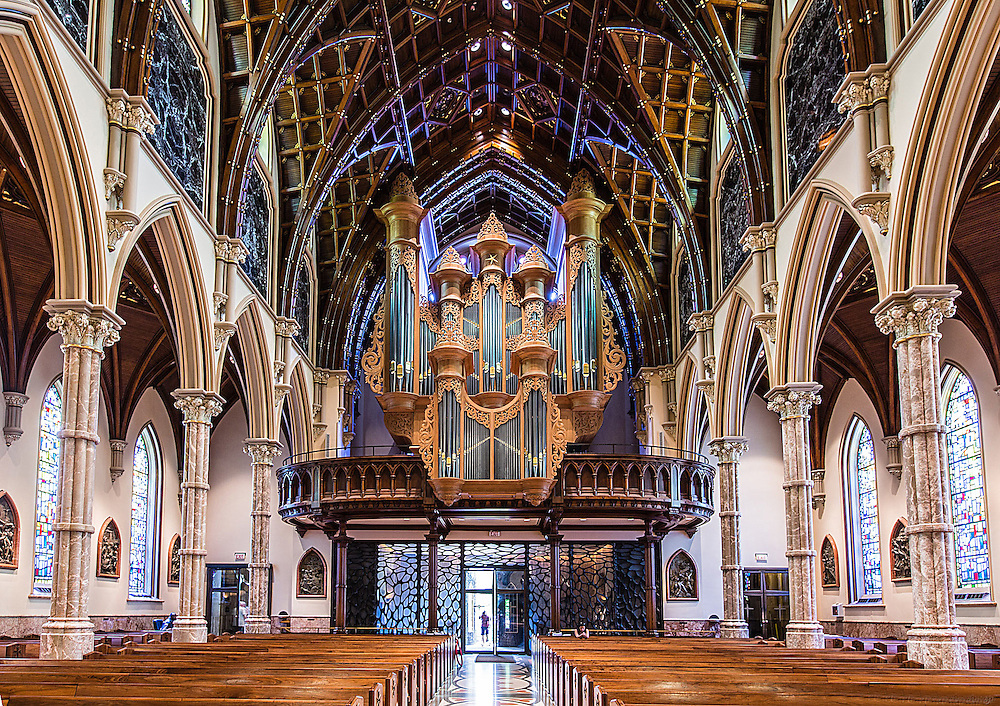 Holy Name Cathedral, Chicago IL ©Photograph by Charles Cherney