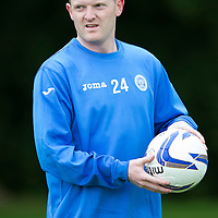 St Johnstone Pre-Season Training...07.07.14<br /> Brian Easton<br /> Picture by Graeme Hart.<br /> Copyright Perthshire Picture Agency<br /> Tel: 01738 623350  Mobile: 07990 594431