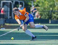 BLOEMENDAAL   - Demi Hilterman (Bldaal) ,  oefenwedstrijd dames Bloemendaal-Victoria, te voorbereiding seizoen 2020-2021.   COPYRIGHT KOEN SUYK