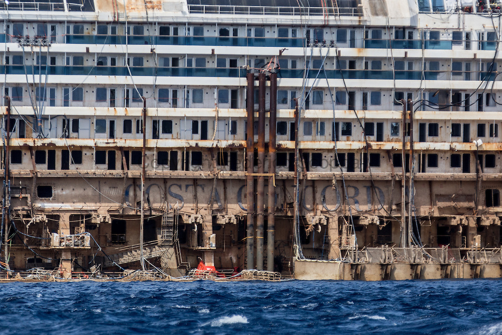 Costa Concordia re float operation close to the end
