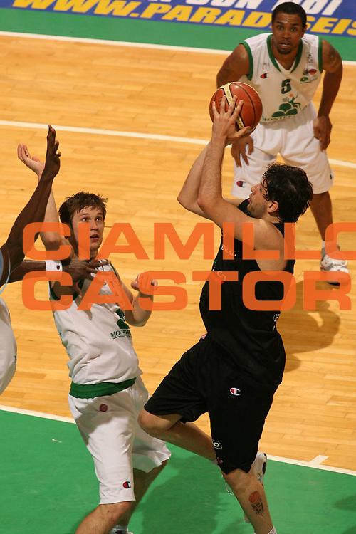 DESCRIZIONE : Siena Lega A1 2006-07 Playoff Finale Gara 1 Montepaschi Siena VidiVici Virtus Bologna <br /> GIOCATORE : Guillerme Giovannoni <br /> SQUADRA : VidiVici Virtus Bologna <br /> EVENTO : Campionato Lega A1 2006-2007 Playoff Finale Gara 1 <br /> GARA : Montepaschi Siena VidiVici Virtus Bologna <br /> DATA : 13/06/2007 <br /> CATEGORIA : Special <br /> SPORT : Pallacanestro <br /> AUTORE : Agenzia Ciamillo-Castoria/L.Moggi