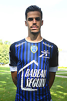 Jimmy Giraudon during the photocall of Troyes Estac for season of ligue 2 on September 3rd 2016 in Troyes<br /> Photo : Philippe Le Brech / Icon Sport