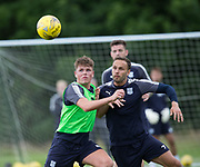 Dundee&rsquo;s Lewis Spence and Tom Hateley - Dundee FC pre-season training at Michelin Grounds, Dundee, Photo: David Young<br /> <br />  - &copy; David Young - www.davidyoungphoto.co.uk - email: davidyoungphoto@gmail.com