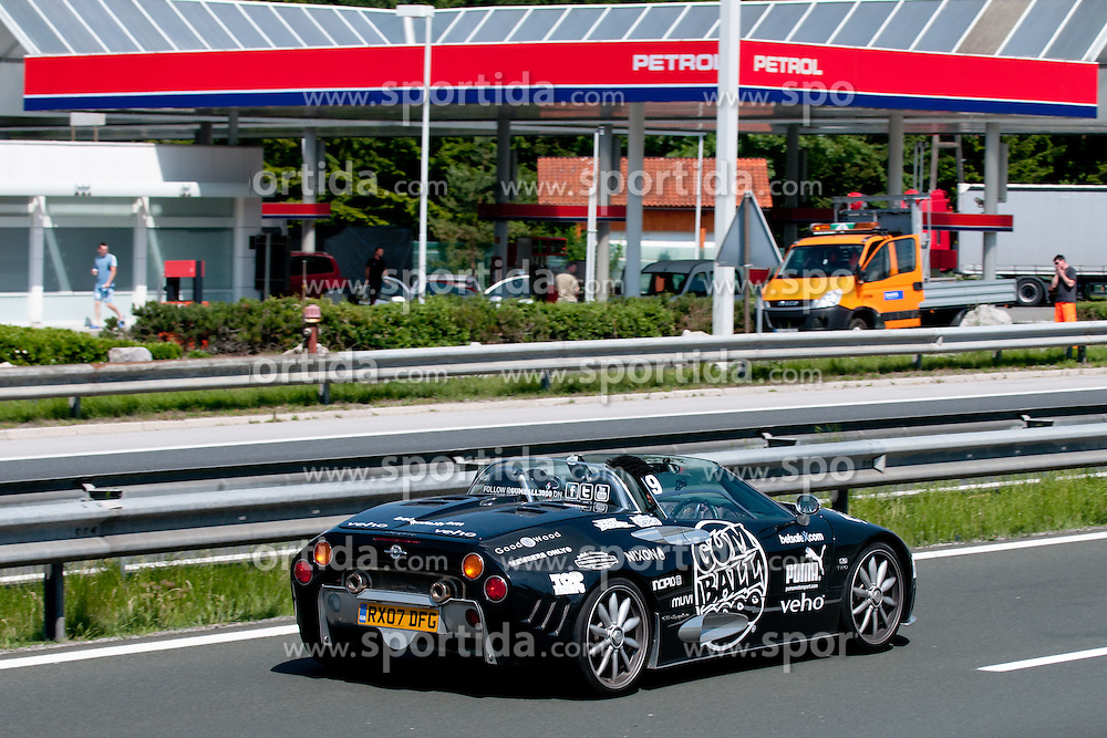 at Gumball 3000 Rally 2011, London - Istanbul, between May 25 and June 1, stage Venice - Zagreb - Belgrade, on May 31, 2011 in Slovenia(Photo by Matic Klansek Velej / Sportida)