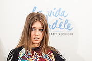 """Adèle Exarchopoulos  attending the opening """"La vie d'Adèle"""" in Madrid."""