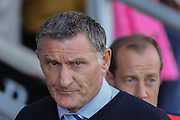 Coventry City Manager Tony Mowbray during the Sky Bet League 1 match between Burton Albion and Coventry City at the Pirelli Stadium, Burton upon Trent, England on 6 September 2015. Photo by Simon Davies.