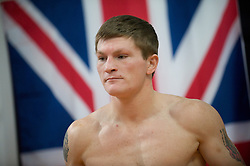Ricky Hatton hosted an open media workout today at the IBA Gym in Las Vegas, where he is preparing for his May 2 showdown with Manny Pacquiao.