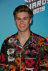 March 23, 2019 - Los Angeles, CA, USA - LOS ANGELES, CA - MARCH 23: Owen Joyner attends Nickelodeon's 2019 Kids' Choice Awards at Galen Center on March 23, 2019 in Los Angeles, California. Photo: CraSH for imageSPACE (Credit Image: © Imagespace via ZUMA Wire)