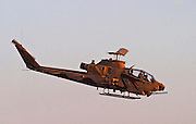 Israeli Air force helicopter, Bell AH-1F Cobra in flight