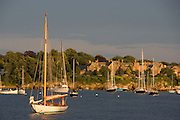 Newport Harbor at sunset, Brenton Cove, NY 30 Alera