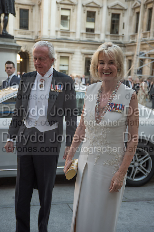 GALEN WESTON; HILARY WESTON, Royal Academy Annual dinner, Piccadilly, London. 6 June 2016