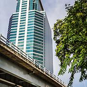THA/Bangkok/201607111 - Vakantie Thailand 2016 Bangkok, Wolkenkrabber in Bangkok