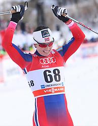 03.01.2015, Langlaufstadion, Obersdorf, GER, FIS Weltcup Langlauf, Tour de Ski, Obersdorf, Damen, Prolog 3,2 km, Einzel, im Bild MARIT BJOERGEN // during the Prologue Ladies 3.2 km Individual Free Cross Country of the FIS Tour de Ski 2015 at the Langlaufstadion in Obersdorf, Germany on 2015/01/03. EXPA Pictures &copy; 2015, PhotoCredit: EXPA/ Newspix/ Tomasz Markowski<br /> <br /> *****ATTENTION - for AUT, SLO, CRO, SRB, BIH, MAZ, TUR, SUI, SWE only*****