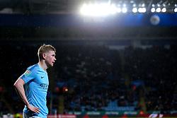 Kevin De Bruyne of Manchester City - Mandatory by-line: Robbie Stephenson/JMP - 18/12/2018 - FOOTBALL - King Power Stadium - Leicester, England - Leicester City v Manchester City - Carabao Cup Quarter Finals