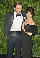 LONDON - November 25: Damian Lewis & Helen McCrory at the London Evening Standard Theatre Awards 2012 (Photo by Brett D. Cove)