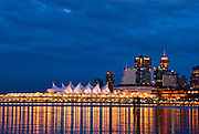 Canada Place, Vancouver, British Columbia, Canada.