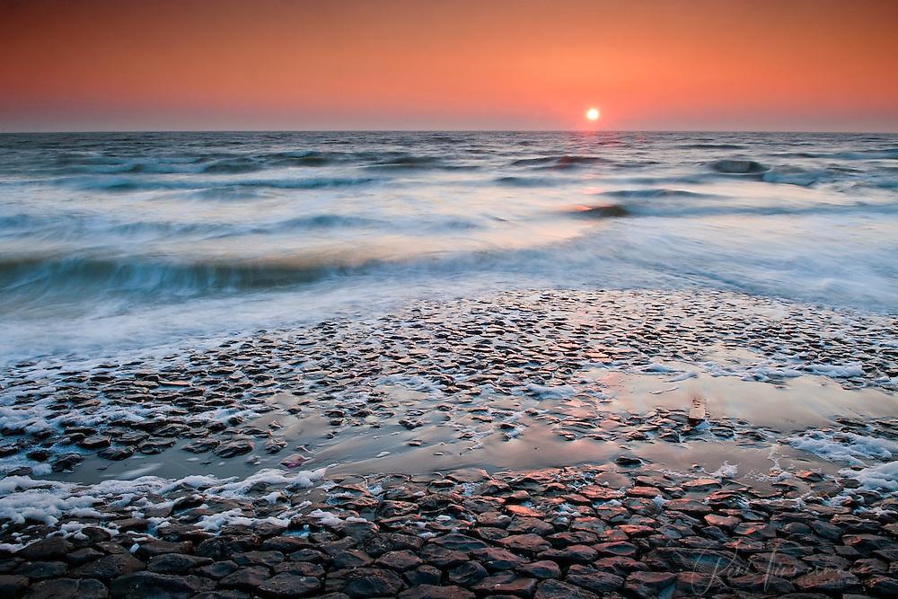 Sunset at Schoorl, Noord Holland