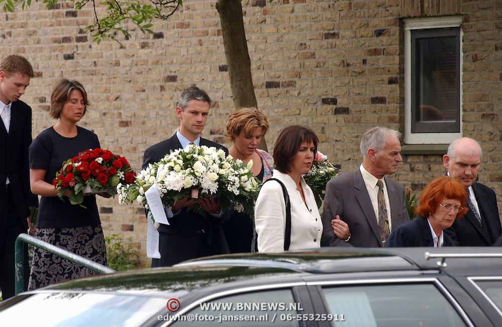 Begrafenis moeder Irene Moors