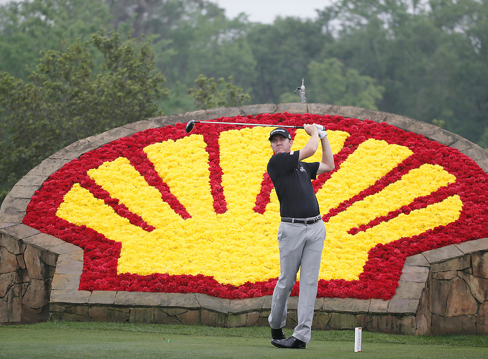 Jimmy Walker drives off of the 18th tee in the Shell Houston Open-Round 1 at the Golf Club of Houston on Wednesday, March 31, 2016 in Humble, TX. (Photo: Thomas B. Shea/For the Chronicle)