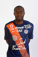 Djamel BAKAR - 06.10.2015 - Photo officielle Montpellier - Ligue 1<br /> Photo : De Hullessen / Mhsc / Icon Sport