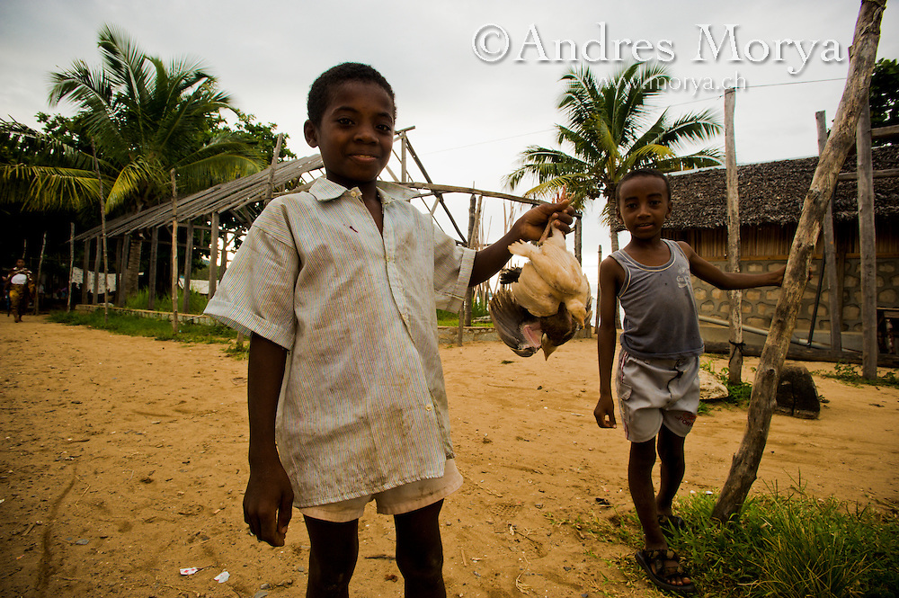 Malagasy childrens, Nosy Be, Madagascar Image by Andres Morya
