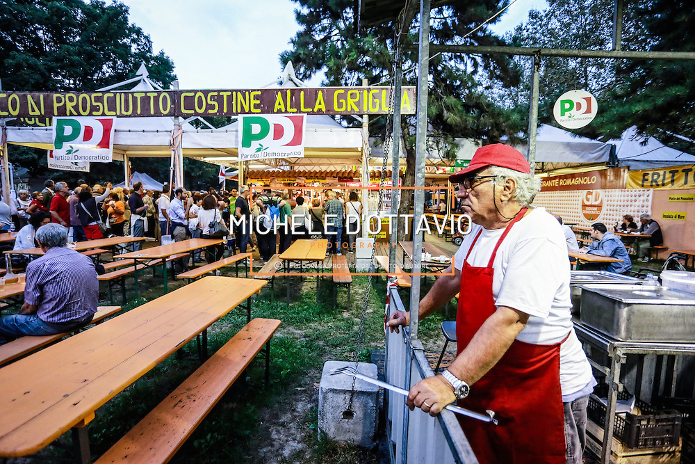 Ristorante della Festa del Partito democratico di Torino<br /> <br /> Restaurant of the Feast of the Democratic Party of Turin