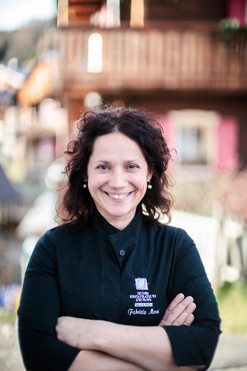 26 NOV 2011 - Sappada (BL) - Ristorante Laite - Fabrizia Meroi, chef