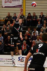 20-03-2012 VOLLEYBAL: A-LEAGUE 1/2 FINALE PLAY OFF HEREN LANGHENKEL VOLLEY - NETWERK STV: DOETINCHEM<br /> Maarten van Garderen, Langhenkel Volley<br /> ©2012-FotoHoogendoorn.nl / Pim Waslander