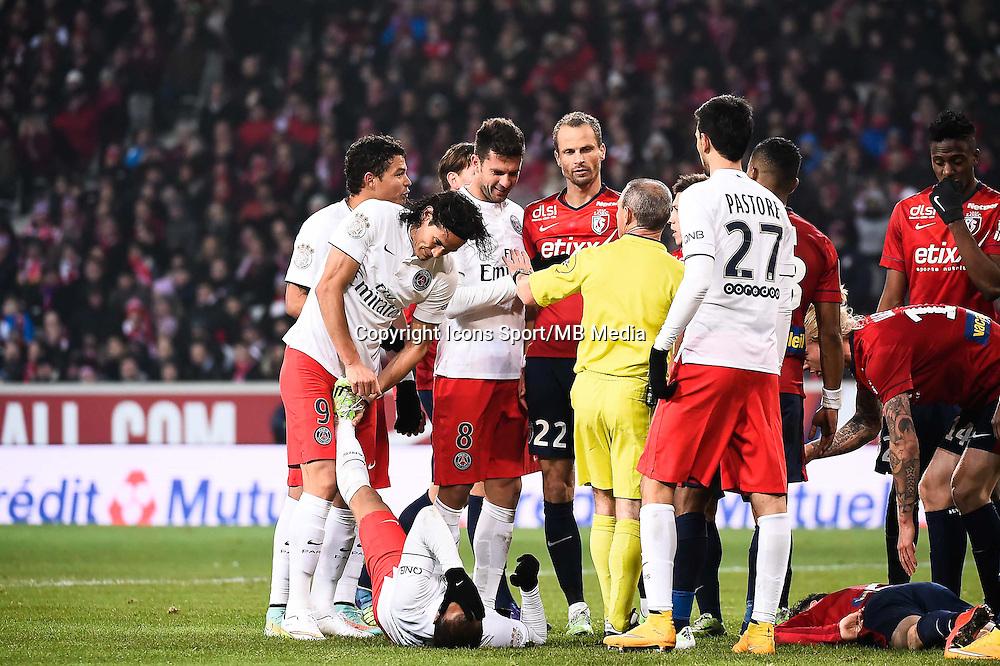 Lucas MOURA - 03.12.2014 - Lille / Paris Saint Germain - 16eme journee de Ligue 1<br />Photo : Fred Porcu / Icon Sport