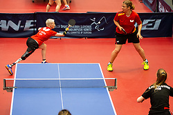 GREBE Stephanie and WOLF Juliane (GER)  during Team events at Day 4 of 16th Slovenia Open - Thermana Lasko 2019 Table Tennis for the Disabled, on May 11, 2019, in Dvorana Tri Lilije, Lasko, Slovenia. Photo by Vid Ponikvar / Sportida