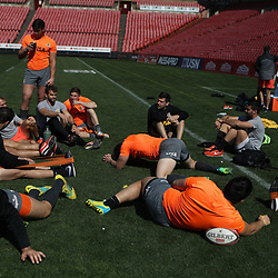 General views during the Jaguares Captain's Run at the Emirates Airlines Park Stadium,Johannesburg, South Africa. 20,07,2018 (Photo by  Steve Haag Jaguares)