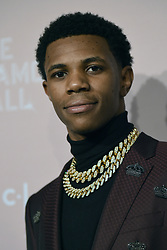 September 13, 2018 - New York, NY, USA - September 13, 2018  New York City..A Boogie Wit Da Hoodie attending the 4th Annual Clara Lionel Foundation Diamond Ball on September 13, 2018 in New York City. (Credit Image: © Kristin Callahan/Ace Pictures via ZUMA Press)