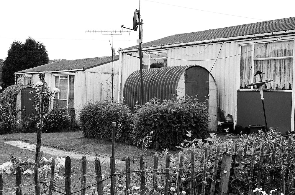 The Bishpool and Treberth post-war prefabs estates in 2002