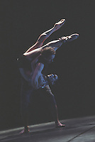 """George Piper Dances.<br /> Monica Zamora, Michael Nunn, and William Trevitt in Russell Maliphant's """"Broken Fall"""", originally choreographed on Sylvie Guillem and the Ballet Boyz for the Royal Ballet."""