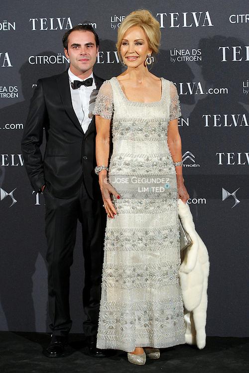 Carmen Lomana attends Telva Awards 2012 at Hotel Palace on November 6, 2012 in Madrid, Spain