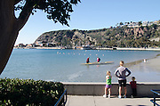 Baby Beach in Dana Point Harbor